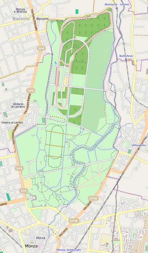 Parco_di_Monza_mappa